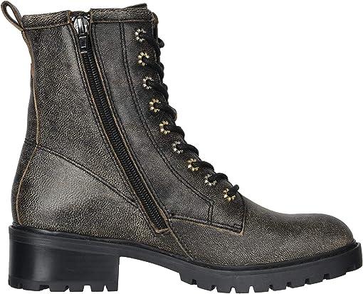 Black Multi Distressed Leather