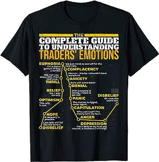 GUIDE UNDERSTANDING TRADERS' EMOTIONS STOCK MARKET T-SHIRT