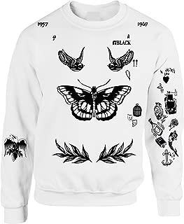 Adult Sweatshirt Harry Tattoos 94 Cool Top Trendy