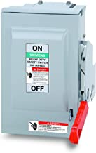 Siemens US2:HNF361RPV 30-Amp 3 Pole 600-volt DC PV 3 Wire N Fused Heavy Duty Safety Switches