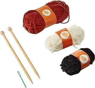 button bag Foxy Mittens Creative Art & Craft Knitting Set