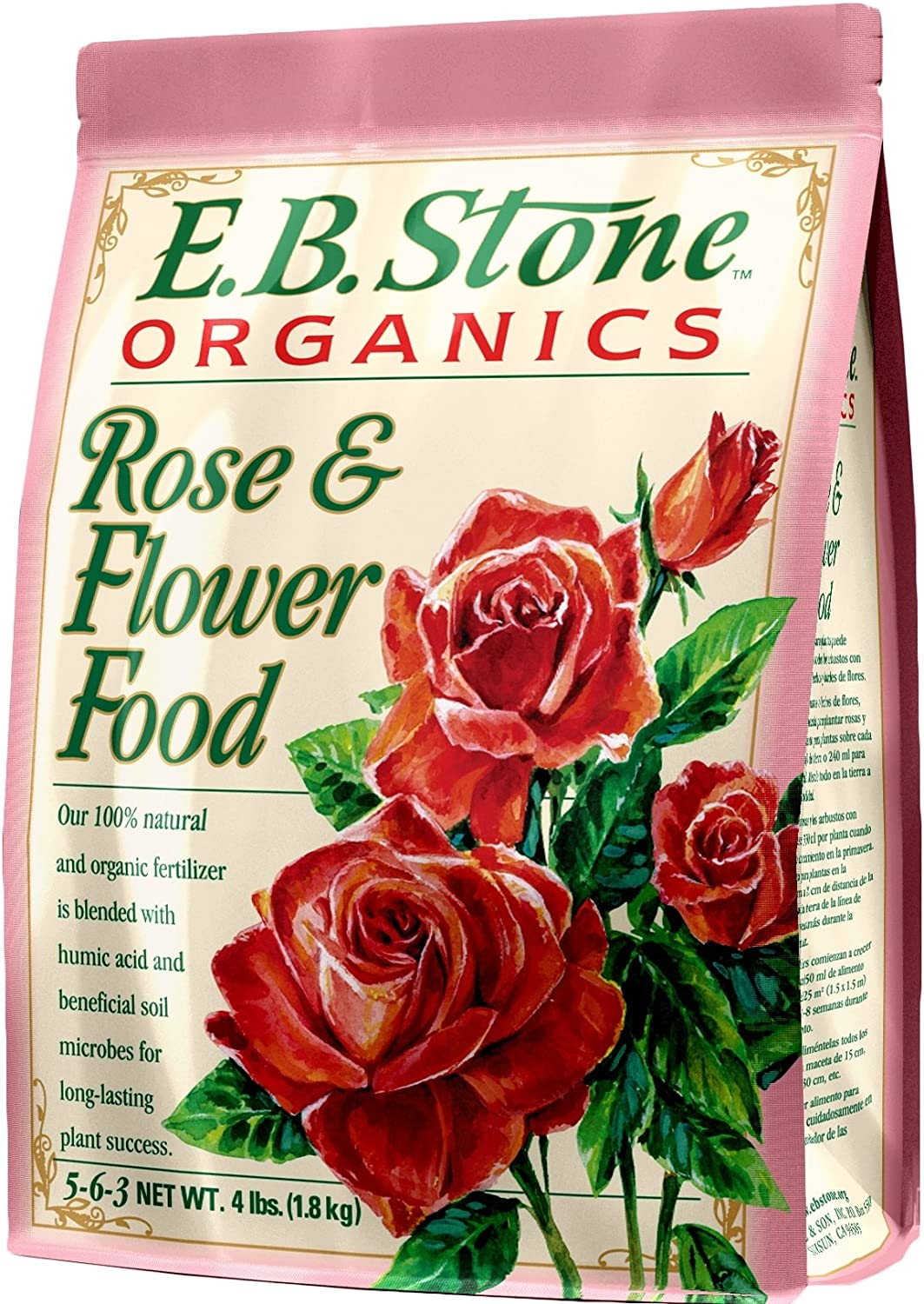 Eb Stone Organic All stores are sold Rose and 4 lb Flower Food Direct stock discount