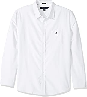 Men's Long Sleeve Classic Fit Solid Shirt