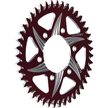 Vortex 826ZR-43 Red 43-Tooth Rear Sprocket