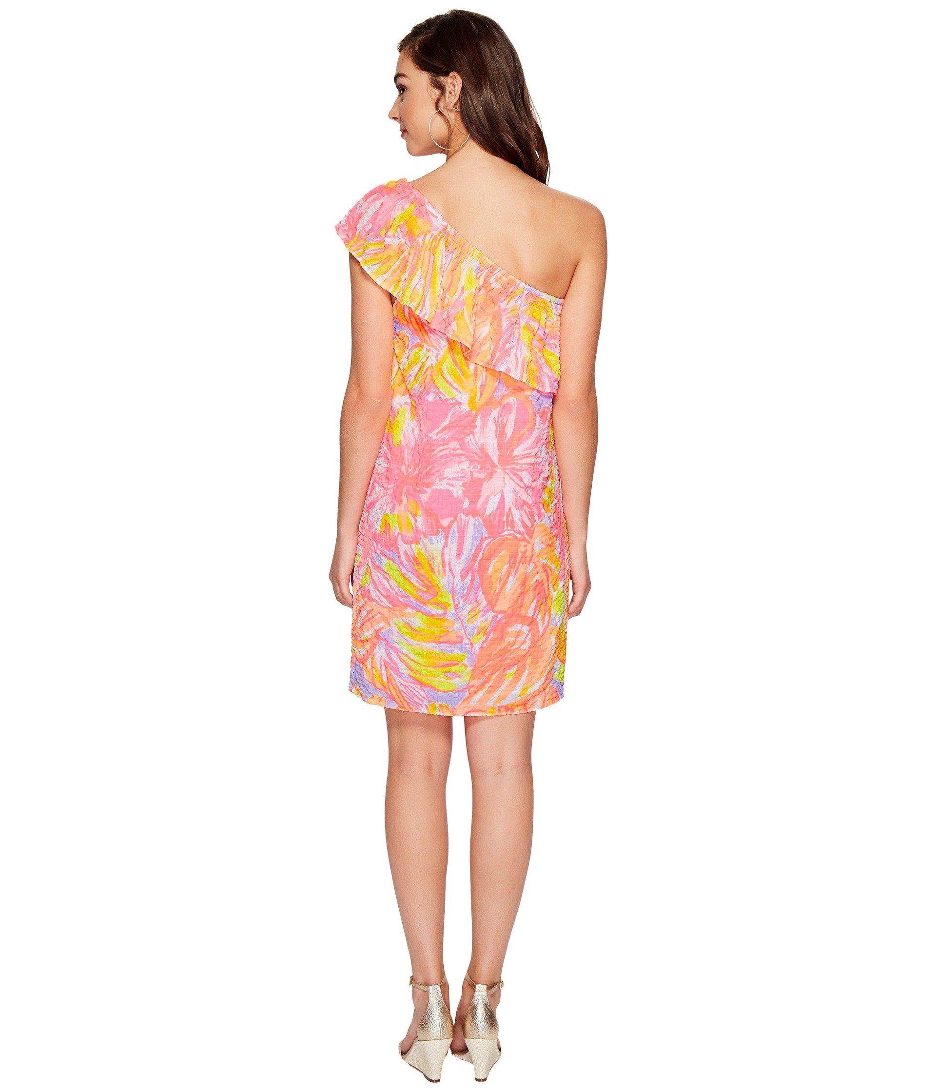 Splashed Lilly Sun Multi Dress Pulitzer Emmeline xCxqwfXvS