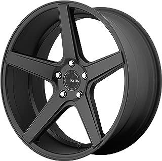 KMC KM685 DISTRICT Satin Black Wheel (20 x 8.5 inches /5 x 114 mm, 35 mm Offset)