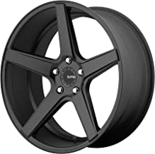 KMC KM685 DISTRICT Satin Black Wheel (20 x 8.5 inches /5 x 114 mm, 35 mm Offset)