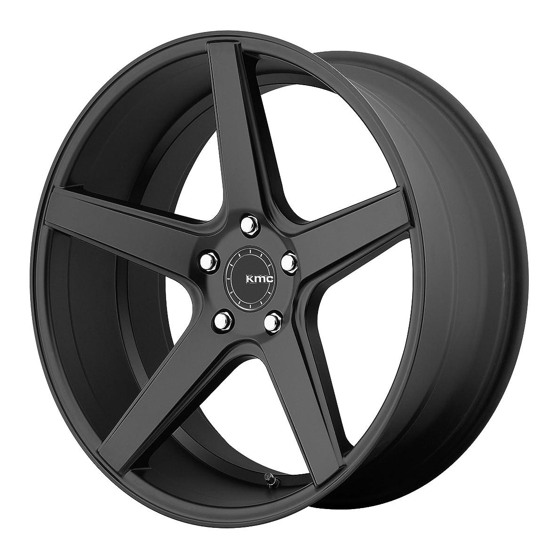 KMC KM685 DISTRICT Satin Black Wheel (20 x 8.5 inches /5 x 120 mm, 35 mm Offset)