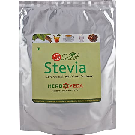 So Sweet Stevia Powder Sugar Free Natural Sweetener Zero Calorie (250 gm)
