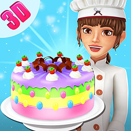 Sweet Cake Maker Bakery Shop 3D - Kitchen Cooking Game