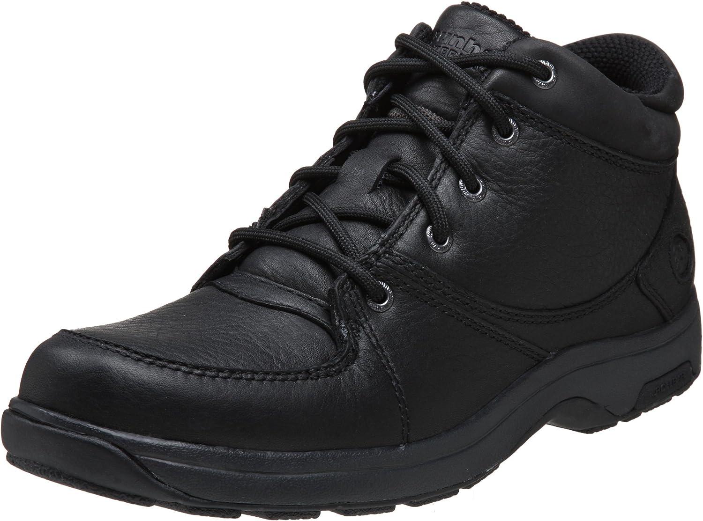 Dunham Men's Addison Mid Cut Waterproof Boot,Black,11 D US