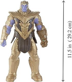 Boneco Titan Hero Marvel Deluxe - Thanos, Avengers, Roxo