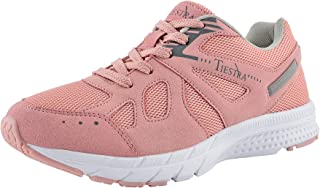 TIESTRA Baskets Chaussures Outdoor Running Gym Fitness Sport, Chaussures de Sport Course Homme Femme, Sneakers Style Confo...