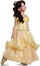 Belle Ultra Prestige Disney Princess Beauty & The Beast Costume, Medium/7-8
