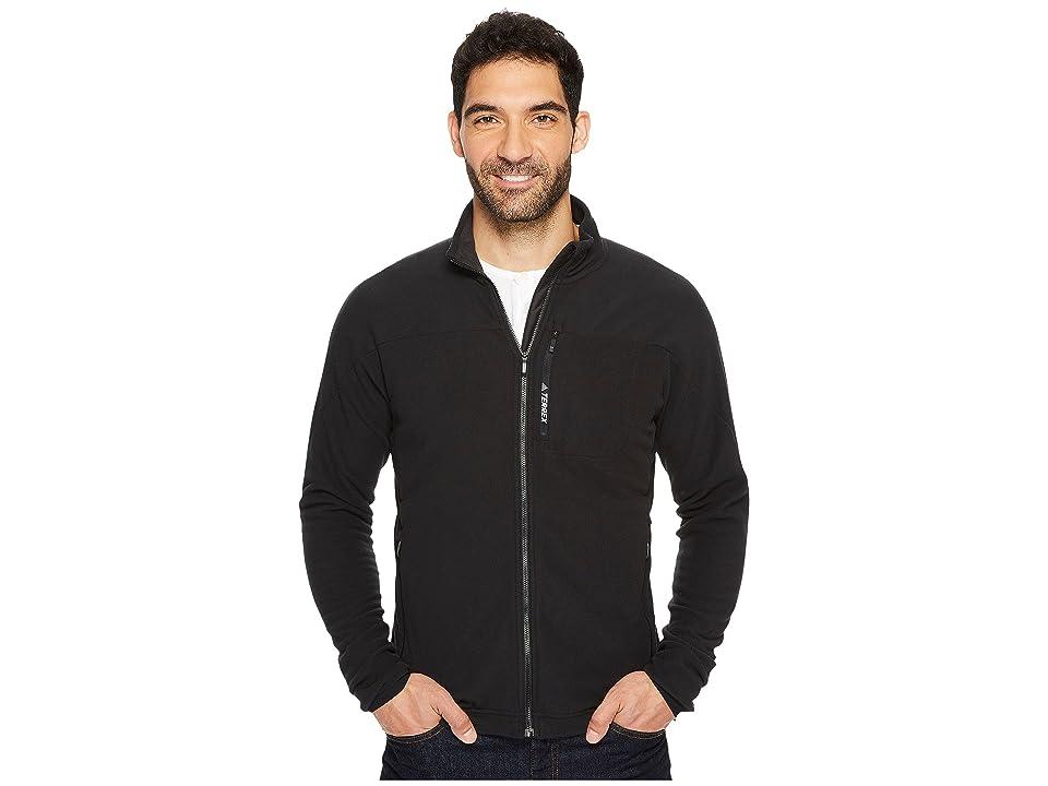 adidas Outdoor Terrex Tivid Fleece Jacket (Black) Men