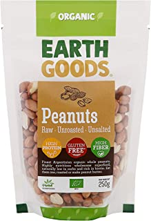 Earth Goods Argentinian Organic Peanuts, 250g