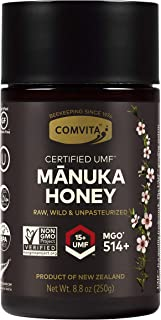 Comvita Certified UMF 15+ (MGO 514+) Raw Manuka Honey I New Zealand's #1 Manuka Brand I Super Premium Grade   Non-GMO Supe...