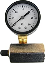 LASCO 13-1905 60 PSI Gas Test-Gauge and Air Chuck with Adapter to 3/4-Inch Female Pipe