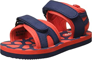 Chalk by Pantaloons Boy's Red Outdoor Sandals-9.5 Kids UK (28 EU) (880000982)