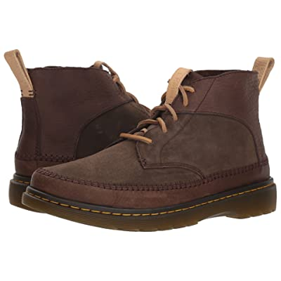 Dr. Martens Flloyd Revive (Dark Brown Mesa/Dark Brown Waxy Suede Waterproof) Men