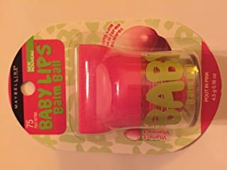 Maybelline Baby Lips Balm Ball Pout In Pink