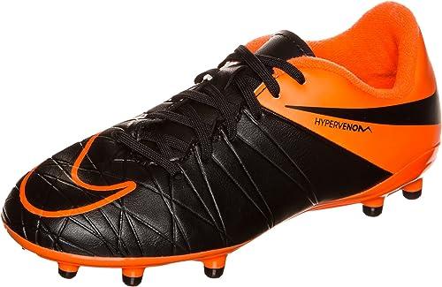 Nike JR Hyper Venom Phelon II FG TC negro negro - Colour negro