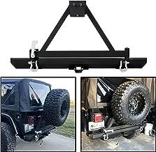 Rock Crawler Rear Bumper w/Tire Carrier Swing& 2