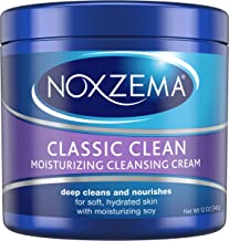 Noxzema Facial Cleanser, Moisturizing Cleansing, 12 oz (pack of 6)