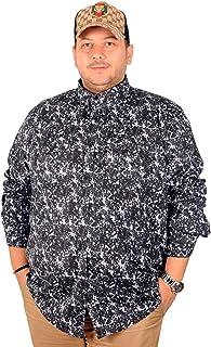 Mode XlErkek Gömlek Kot U.Kol Çift Cep Kapaklı Kamuflaj 19369