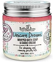 Bella and Bear - Unicorn Dreams 3 in 1 - Body Wash - Shave Cream and Moisturizer for Women - SLS Free - Cruelty Free - Vegan