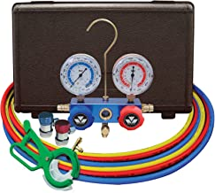 MASTERCOOL (98661-PRO Blue R134A and R-12 Dual Manifold Gauge Set with 60