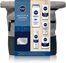 NIVEA Men Dapper Duffel Gift Set - 5 Piece Collection Of On-The-Go Grooming Needs with Travel Bag Included