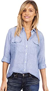Best white cotton wrap blouse Reviews