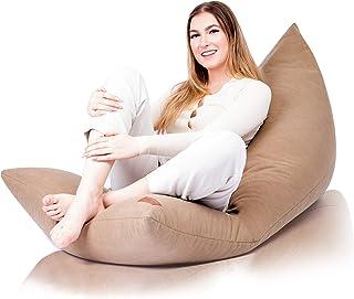 Funda de Puff Salon Moderno - Puf Gigante sin Relleno para Decoracion Habitacion Adolescente o Infantiles - Bean Bag Chair o Cojin Suelo XXL