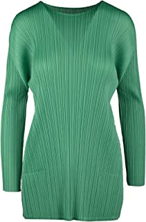PLEATS PLEASE ISSEY MIYAKE Luxury Fashion Womens PP06JK12262 Green Dress | Spring Summer 20