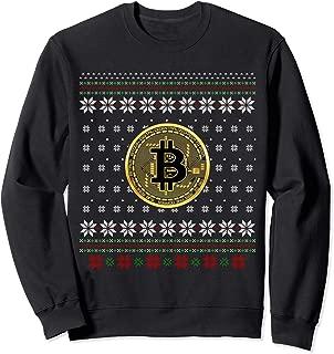 Bitcoin Ugly Christmas Sweater For Men Women Sweatshirt
