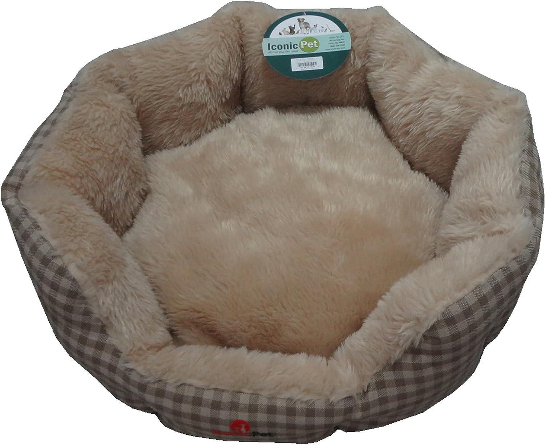 Iconic Pet 51502 Luxury Napperz BedBeige, Large