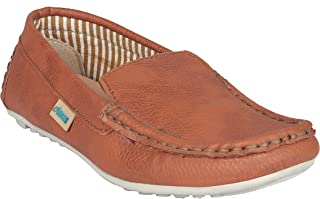 Beanz KodyLoafer Tan Shoes for Boys