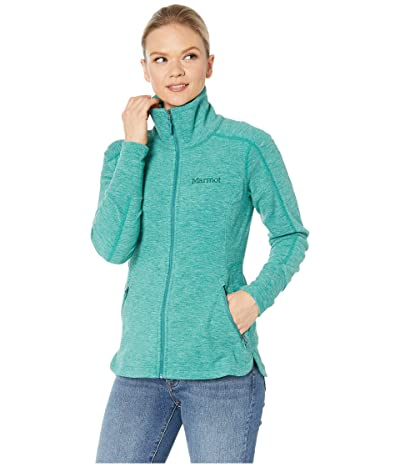 Marmot Pisgah Fleece Jacket (Deep Jungle) Women