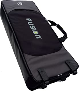 Fusion F3-28 K 15 B Keyboard 15 Gig Bag (76-88 Keys) with wheels
