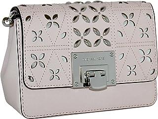 2d2dc169d1 MICHAEL Michael Kors Women s Tina Small Clutch Cross Body Leather Handbag  (Blossom)