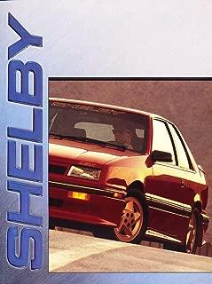 1990 Shelby CSX Dakota Truck 12-page Original Car Sales Brochure Catalog - Dodge