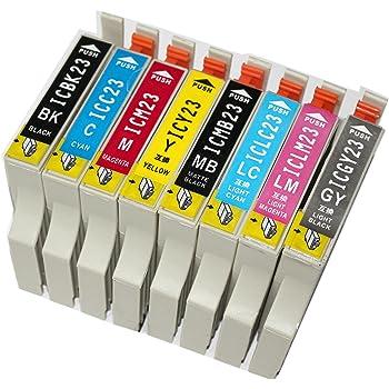 PM-4000PX インク エプソン プリンター IC23 8色セット 互換インクカートリッジ Colorio カラリオ IC8CL23