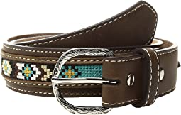 M&F Western - Ribbon Overlay Lacing Belt (Little Kids/Big Kids)