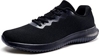Men's Comfortable Walking Shoes, Lightweight Sports Tennis Shoes Fashion Sneakers for Men Casual Wear
