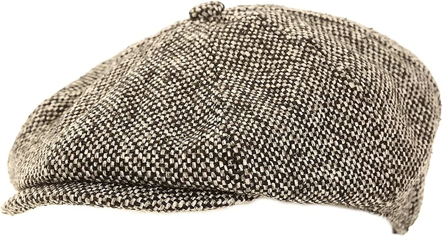 Hawkins Mens Direct sale of manufacturer Baker Boy Flat Cap Lining Sizes 4 Quilted Oakland Mall with