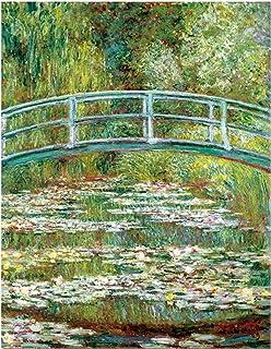 Reproduction affiches et impressions peintures sur toile Claude Monet peinture nénuphars mur Art imprimé décor à la maison...