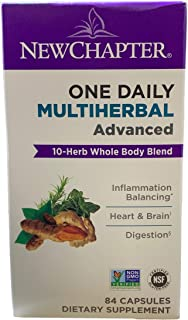 NewChapter One Daily Multiherbal Advanced