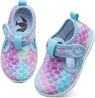 Sponsored Ad - FEETCITY Baby Boys Girls Water Sport Shoes Barefoot Kids Aqua Socks Quick-Dry Beach Swim Pool Shoes