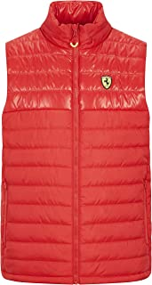 Scuderia Ferrari Men's Padded Vest Red